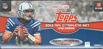 2012 Topps Football Factory Sealed Retail Version Set with Russell Wilson, Andrew Luck, Plus 5 Exclusive Rookie Card Variations