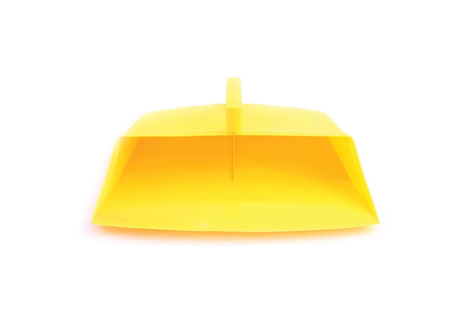 Bentley Industrial P0012/YELLOW Large Hooded Dustpan with Hanging Hook, Yellow Charles Bentley & Son Ltd