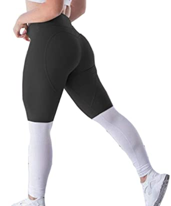a0d1fad48cf Rrive Women Color Block Leggings Workout Gym Fitness Running Active ...