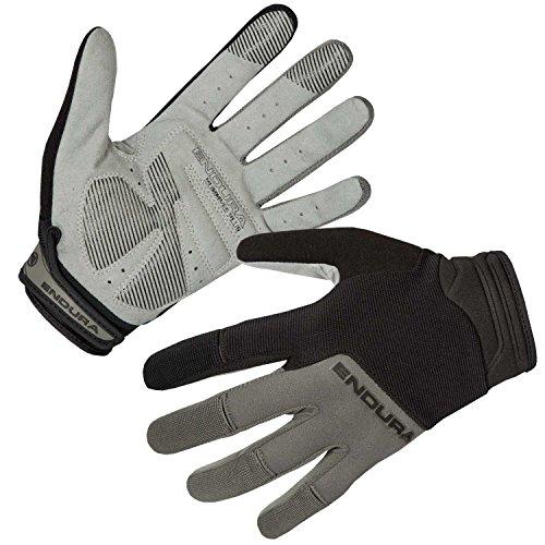 Endura Hummvee Plus Cycling Gloves II - Best Trail Mountain Bike MTB Gloves Black, X-Large