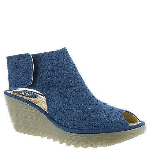 FLY London Women's Yahl700fly Ankle Bootie Blue Cupido cheap sale order u65KaC