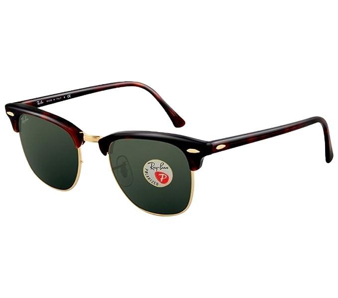 Amazon.com: Gafas de sol de cristal no polarizadas Ray-Ban ...