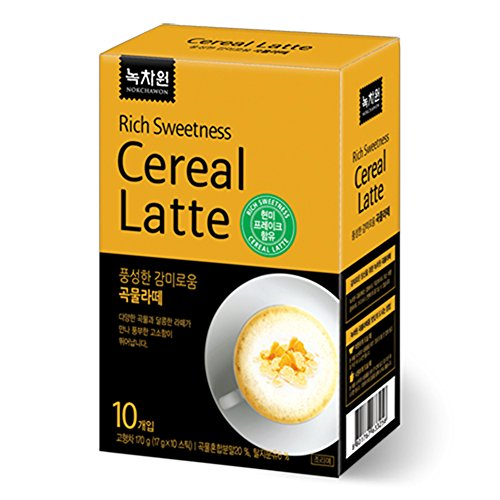 Nokchawon Rich Sweet Cereal Latte