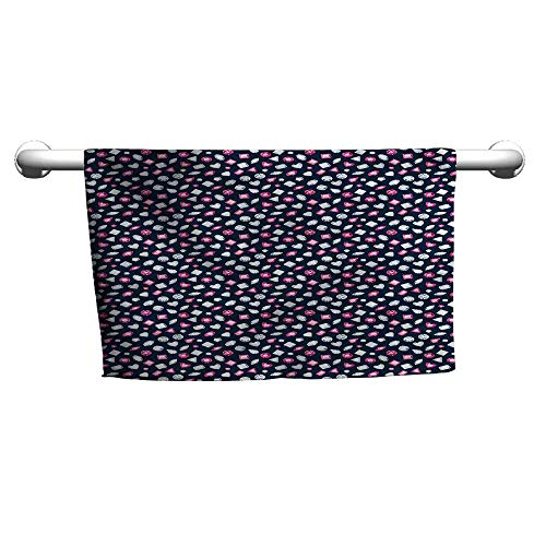 Flowered Diamonds,Crystals and Rubies,wrap Towel for Women