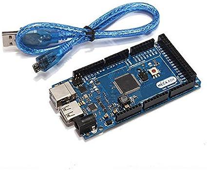 Amazon.com: Mega ADK R3 ATmega2560 Module Compatible ADK With USB Cable - Compatible SCM & DIY Kits Module Board - 1 x Compatible Arduino Mega ADK R3, 1 x USB cable: Home Improvement