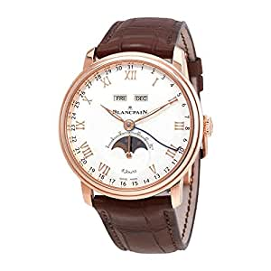 Blancpain Villeret Complete Calendar 8 Days Mens Watch 6639-3642-55B