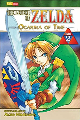 zelda ocarina of time manga