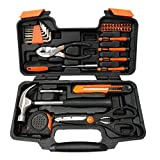 XWT 39PC Tool Set General Repair Household Hand Tool Set Home Appliance Repair Tools Kit with Tool Box Storage Case
