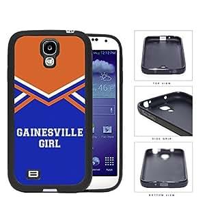 Gainesville City Girl School Spirit Cheerleading Uniform Samsung Galaxy S4 I9500 Rubber Silicone TPU Cell Phone Case wangjiang maoyi