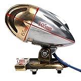 NEVERLAND Retro Grill Rear Brake Tail light Torpedo For Harley Chopper Bobber Cruiser Custom