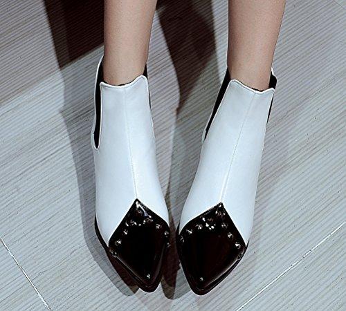 Boots 5 EU Femme Chelsea Blanc HiTime 36 Blanc vPBqxd