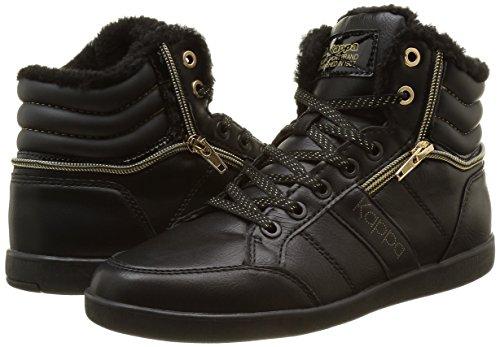 top Shiny 21 Schwarz 906 Kappa Gold Linwood Black Damen 5 907 EU Low Black TAN fx0OtwRaq0