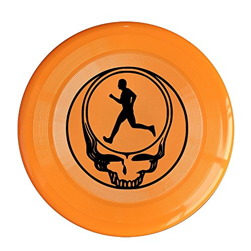 [XJBD Unisex Dead Running Outdoor Game, Sport, Flying Discs,Game Room, Light Up Flying, Sport Disc ,Flyer Frisbee,Ultra Star Orange One] (Victorias Secret Costume Ideas)