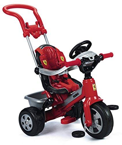Famosa - 800005840 - Tricycle - Ferrari avec Canne