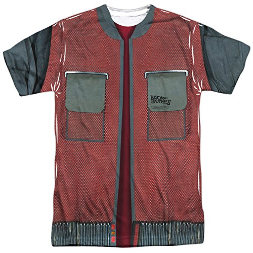 Back to the Future 2 McFly Future Jacket T-Shirt Large