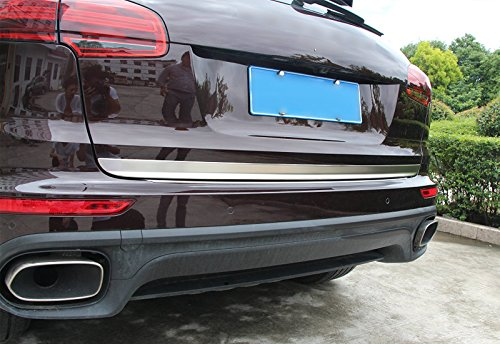 Amazon.com: 2015 for Porsche Cayenne Tailgate Rear Door Bottom Lid Protector Cover Plate: Automotive