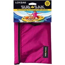 LokSak SubSak Waterproof Bag up to 200ft Touchscreen Control, 2 aLokSak Bags Inside, Reusable, Made in USA