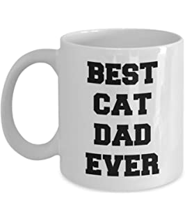 funny cat dad mug best cat dad ever gifts for best cat dad