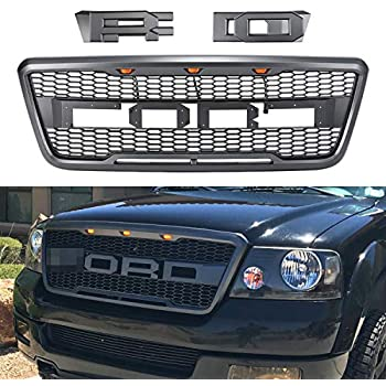 Raptor Style Grill For F150 2004 2005 2006 2007 2008 ABS Honeycomb Grille Mattle Black