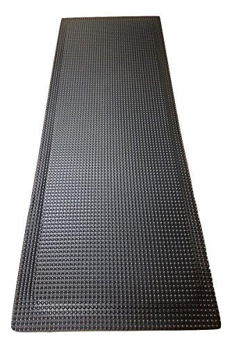 Rhino Mats RFLX2496DSIB Reflex Anti Fatigue Mat, 2' Width x 8' Length x 1