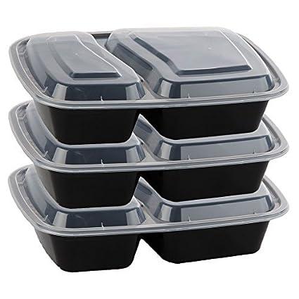 27280c4492bb Buy Bulk Wholesale Supplies Fitness Meal Prep 2-Compartment Reusable ...