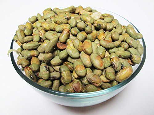 Roasted Edamame (Green Soybeans) Salted, 22 Pound Bulk BOx by CandyMax
