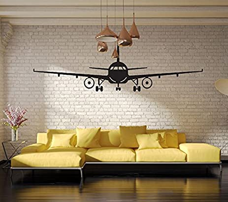 Amazon.com: JMHWALL 3D Airplane Wall Stickers Wall Decor Airplane ...
