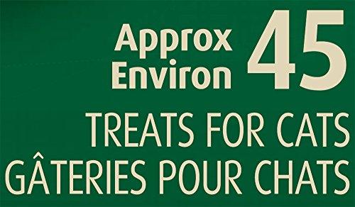 Pastillas de pastillas Greenies felinas Trata el sabor del pollo, 1.6 oz. Pack (45 Golosinas)