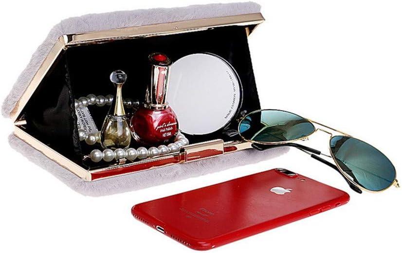 ALLHM Ms Color : BLACK, Size : ONESIZE Banquet Imitation Dinner Handling Carrying Case Elegant
