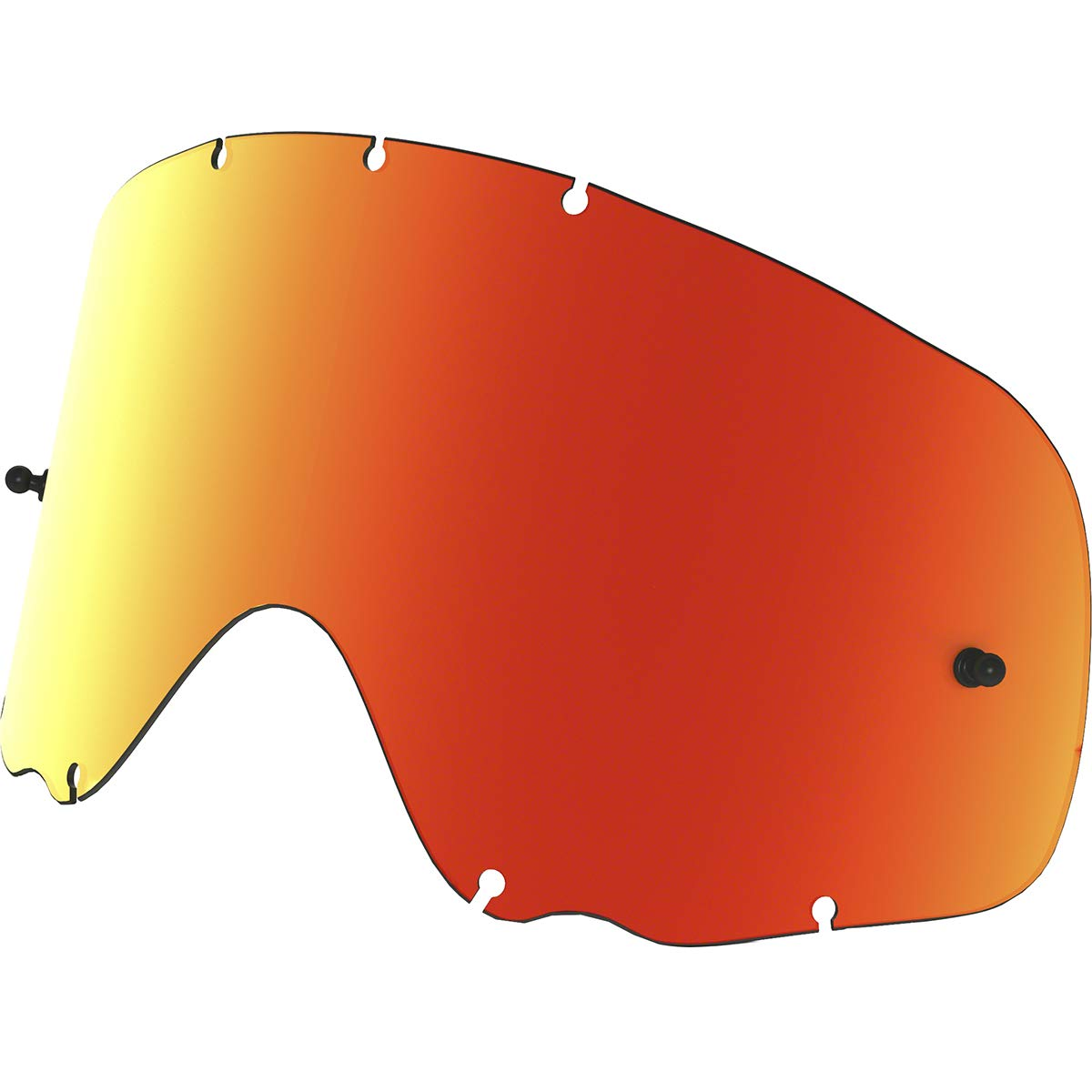 Oakley Crowbar MX Replacement Lens (Fire, One Size) by Oakley