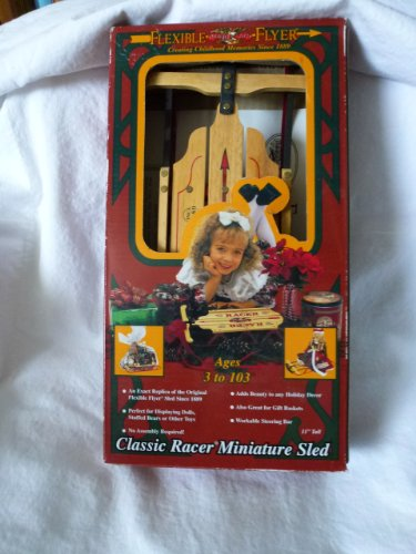 Flexible Flyer Classic Racer Miniature Sled
