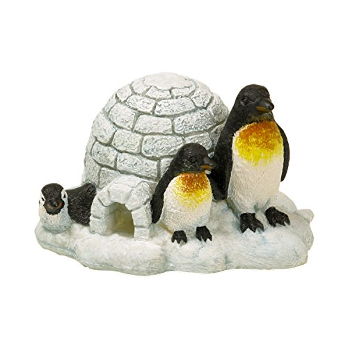 Blue Ribbon EE-367 Penguin Island Exotic Environments Aquarium Ornament