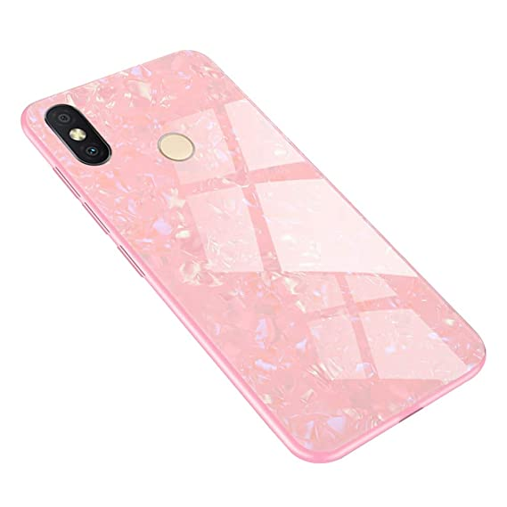 Amazon com: Xiaomi Redmi S2 Case, SHUNDA Bling Tempered
