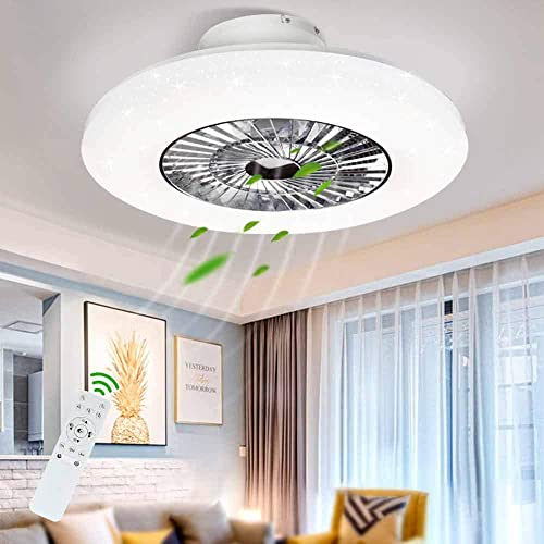 DLLT LED Remote Ceiling Fan