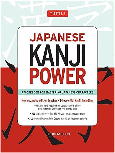 amazon com japanese kanji power jlpt levels n5 n4 a workbook