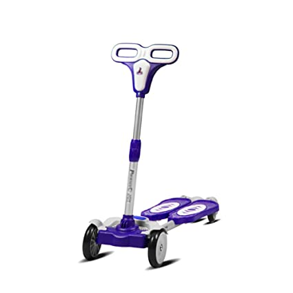 ZXL Scooter ABS plastic 3-13 Years Old Boys Girls Children Single Foot  Height Adjustable