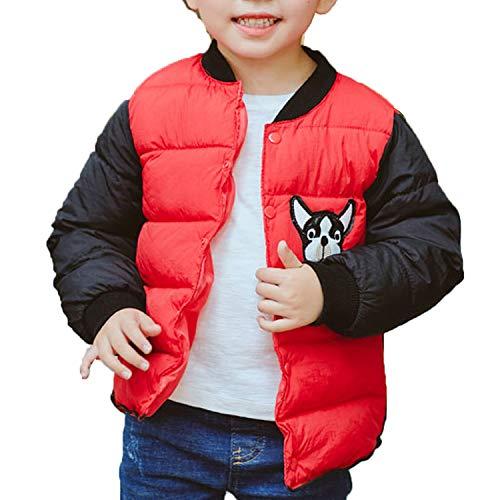 JBEELATE Baby Girl Boy Down Jacket Winter Warm Hooded Coat Puffer Jacket Outerwear