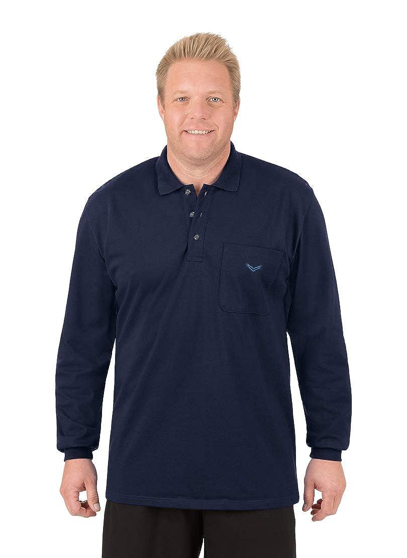 Trigema Herren Poloshirt 621652, Einfarbig