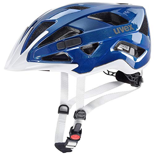 (Uvex Active 2019 Bicycle Helmet Blue/White 56-60 cm)