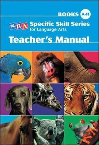 Download Specific Skill Series for Language Arts - Teacher's Manual ebook