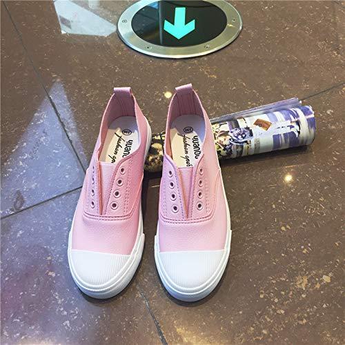 Zapatos Plana Pink Planos Zapato Único Suela Concha Marisco Zapato AIMENGA 7q6xdwdR