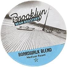 Brooklyn Bean Boardwalk Blend Coffee Capsule, Compatible with Keurig K-Cup Brewers, 24-Count