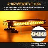 Linkitom LED Strobe Flashing Light Bar -Double Side