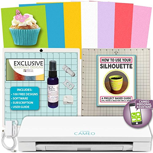 Silhouette Cameo 3 Machine Bundle - Cake Decorating with Edible Wafer Paper by Silhouette Cameo