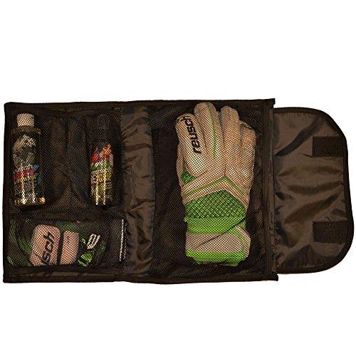(Reusch Soccer Stuffed Goalkeeper Glove Bag, Black, 19