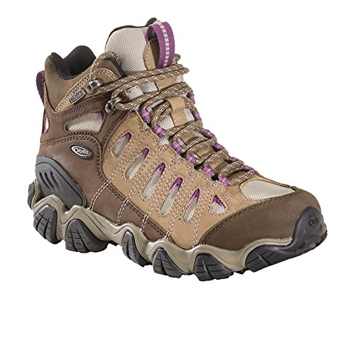 Women's Mid Hiking Oboz Boot Sawtooth Violet BDRY UwAOT7q