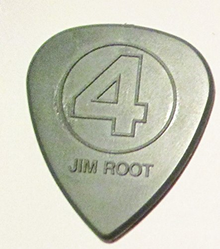 2015 Slipknot Jim Root Custom Gray Molded Guitar Pick Prepare for Hell Tour