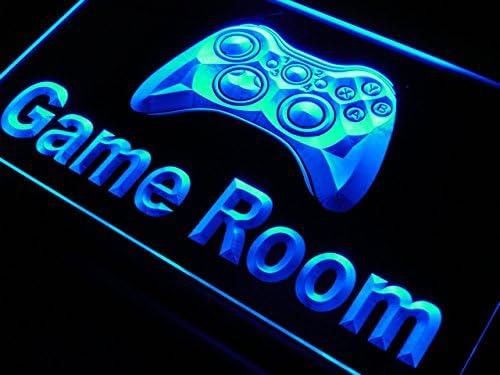 Cartel Luminoso ADV PRO j984-b Game Room Console Neon Light Sign