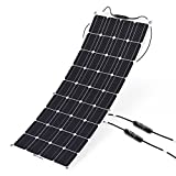 ALLPOWERS 100W 18V 12V Solar Panel Charger Solar City Lightweight Flexible with MC4 Connector Charging for RV Boat Cabin Tent Car (Compatibility with 18V and Below Devices)