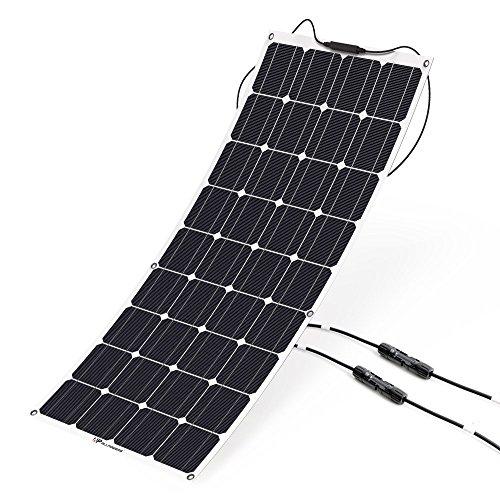 150W 18V Mono Semi Solarmodul flexibel Solarpanel für Boot Wohnmobil Camping x9